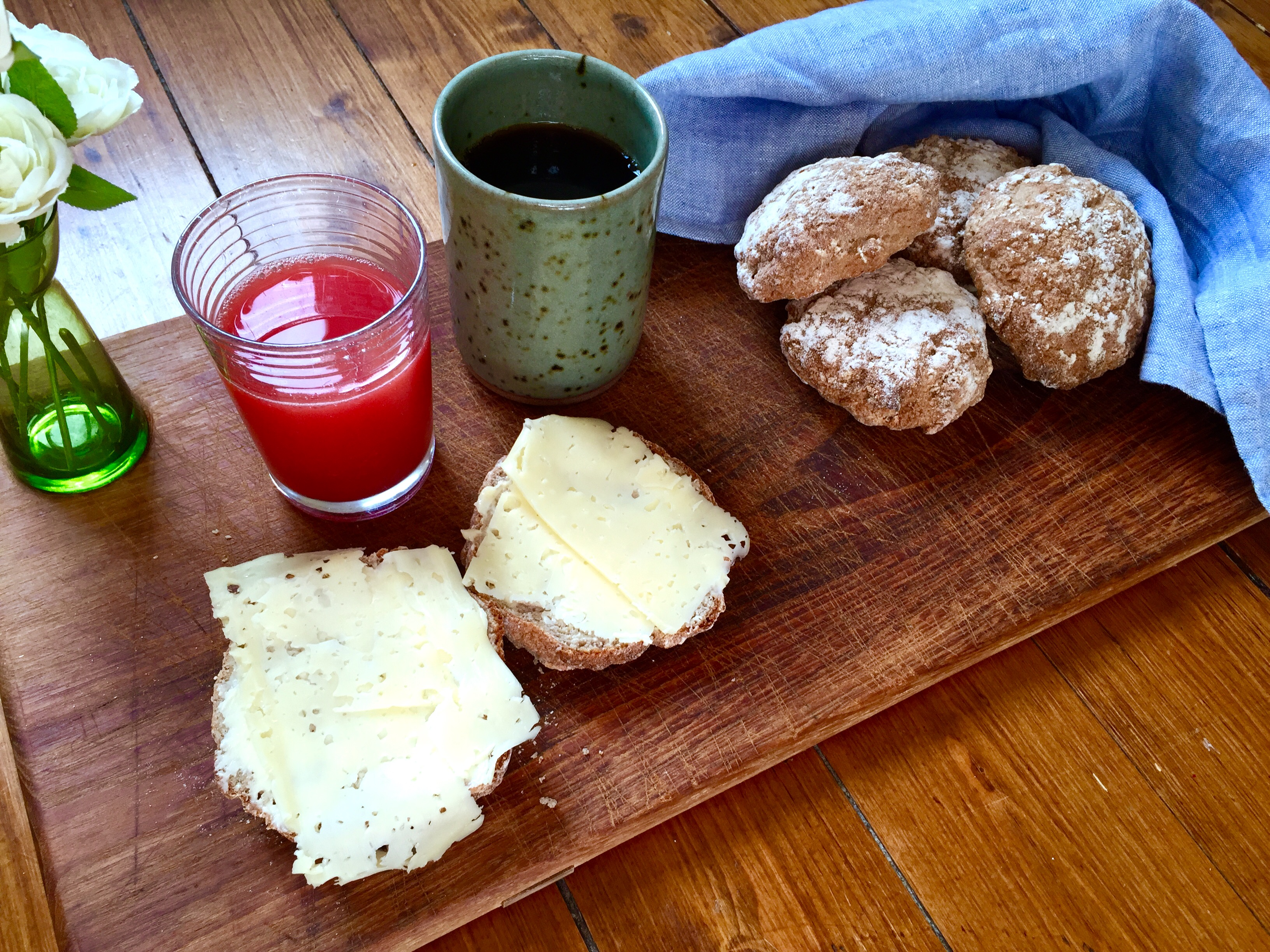 Glutenfri frukost, bröd