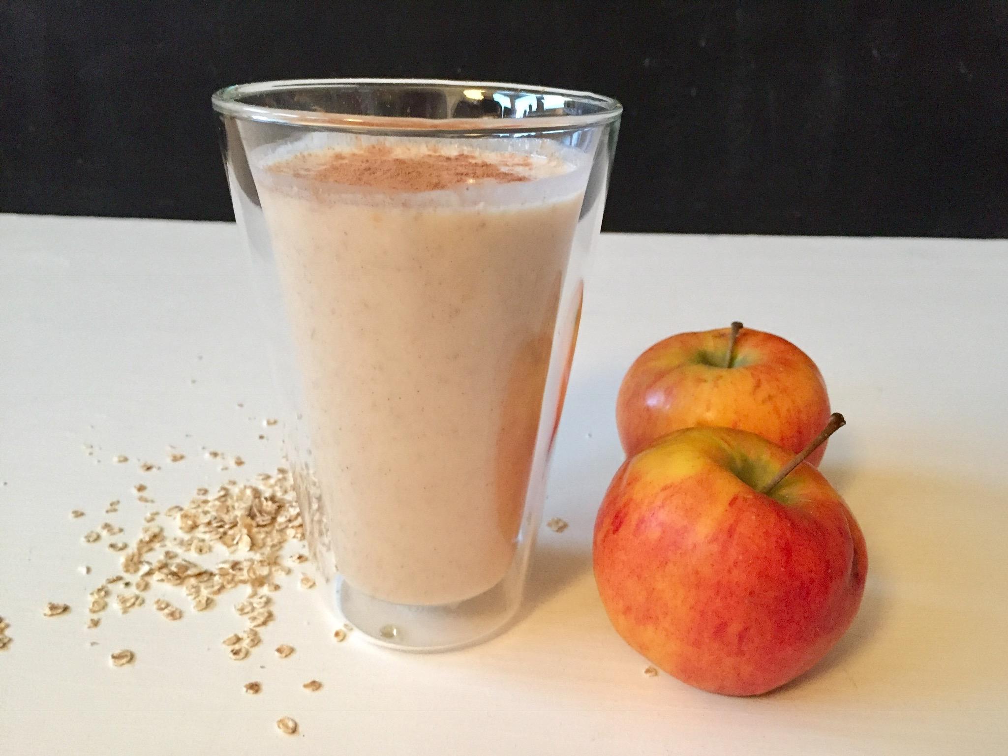 smoothie med mjölk och havregryn